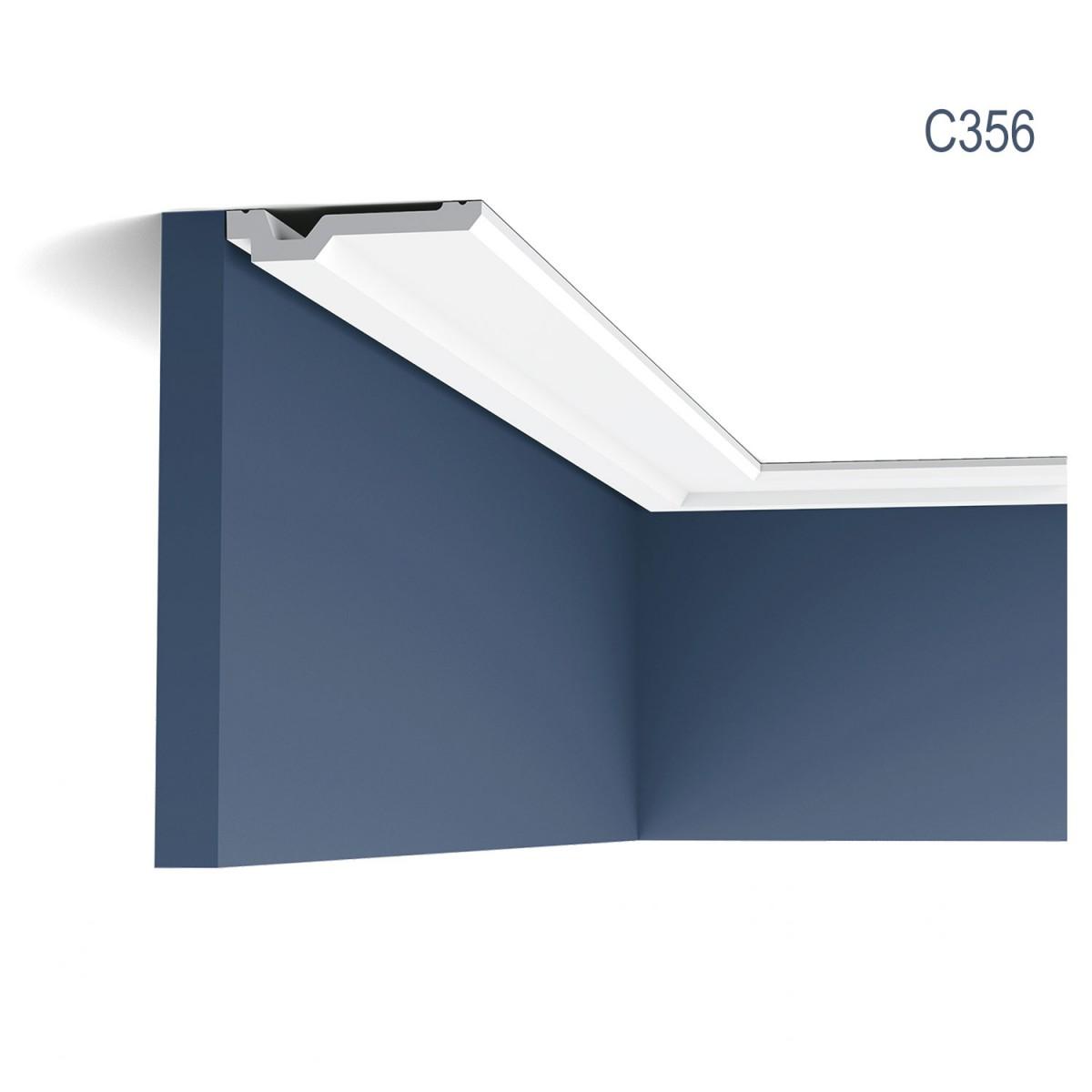 Cornisa Luxxus C356, Dimensiuni: 200 X 2 X 10 cm, Orac Decor