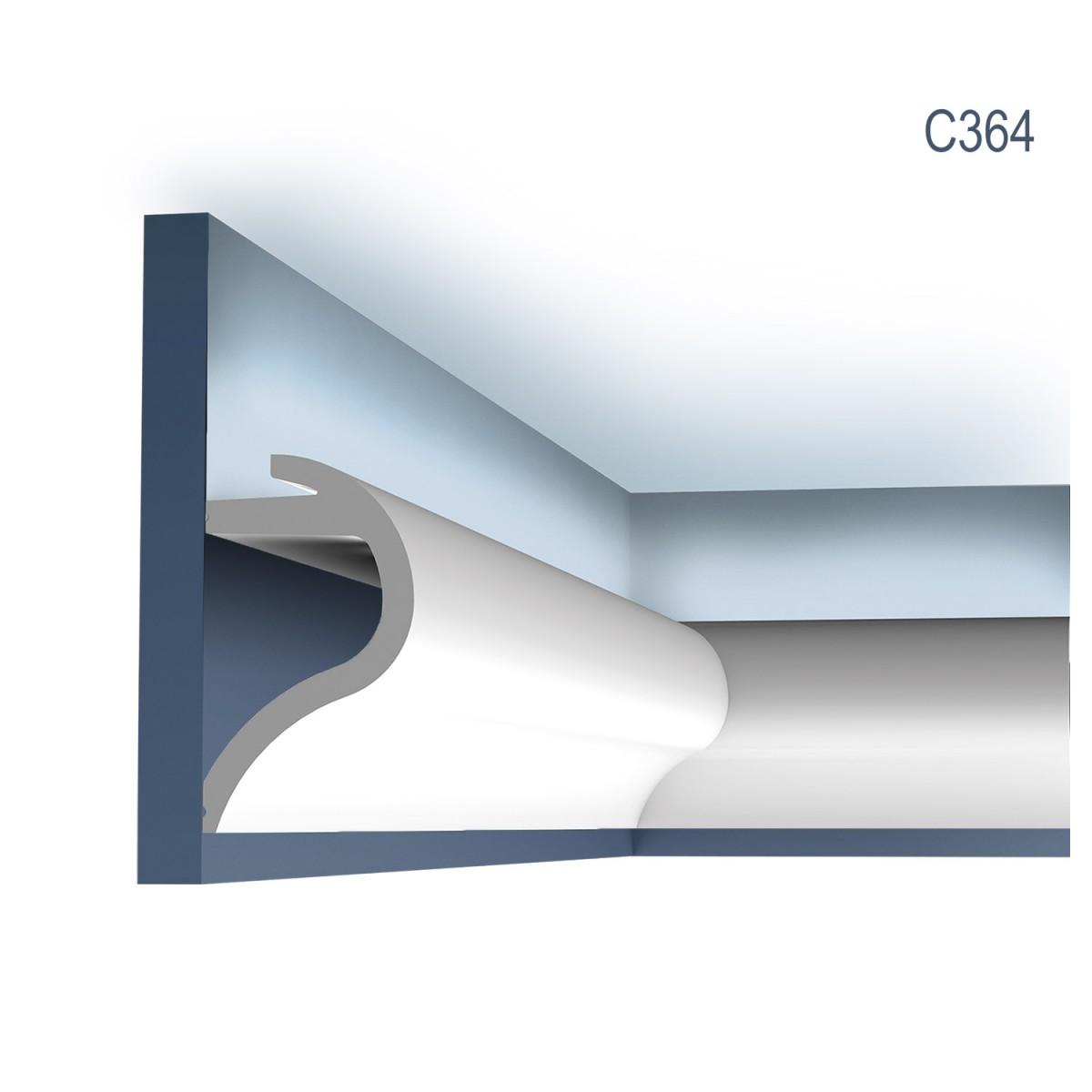 Cornisa Luxxus C364, Dimensiuni: 200 X 14 X 8 cm, Orac Decor