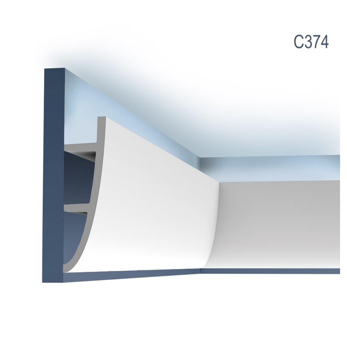 Cornisa Ulf Moritz C374, Dimensiuni: 200 X 18 X 5 cm, Orac Decor