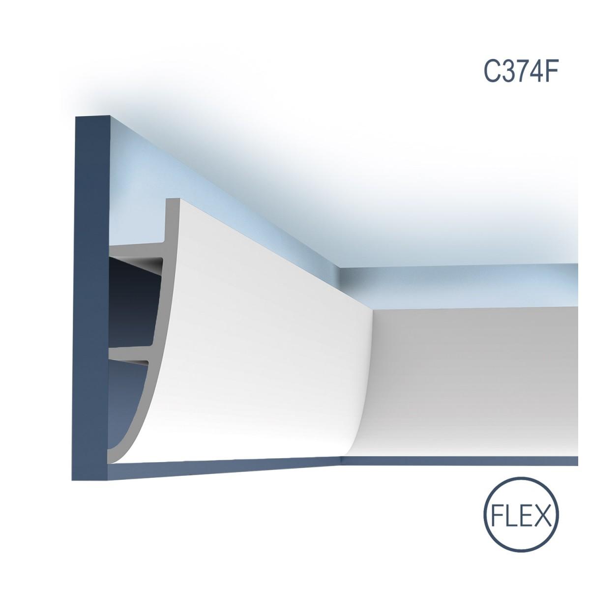 Cornisa Ulf Moritz C374F, Dimensiuni: 200 X 18 X 5 cm, Orac Decor
