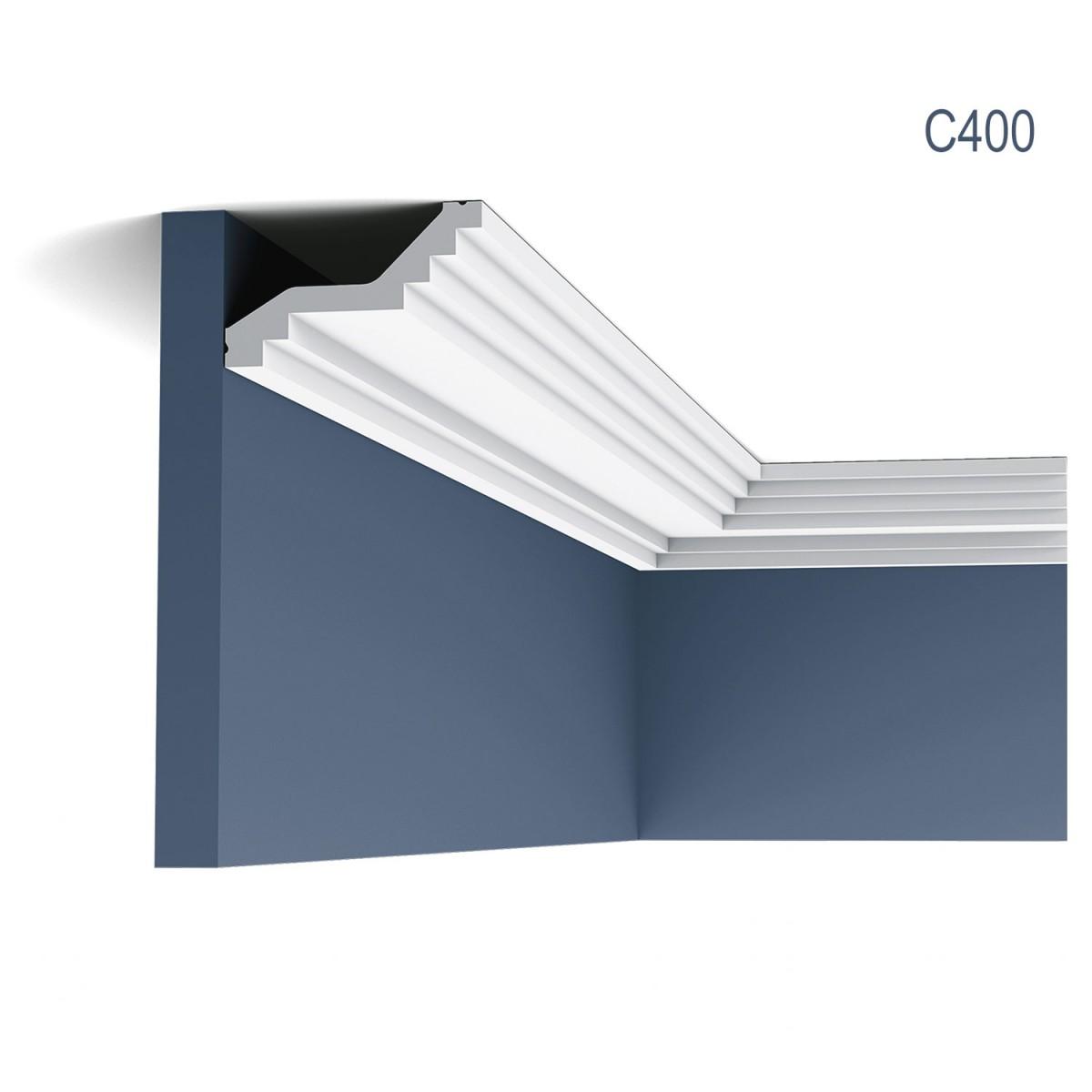 Cornisa Luxxus C400, Dimensiuni: 200 X 6 X 10 cm, Orac Decor