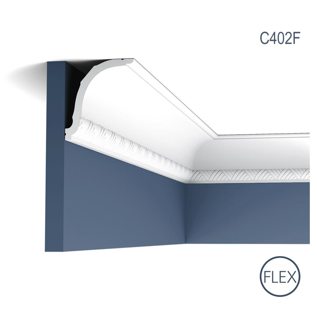 Cornisa Luxxus C402F, Dimensiuni: 200 X 10.7 X 9.4 cm, Orac Decor