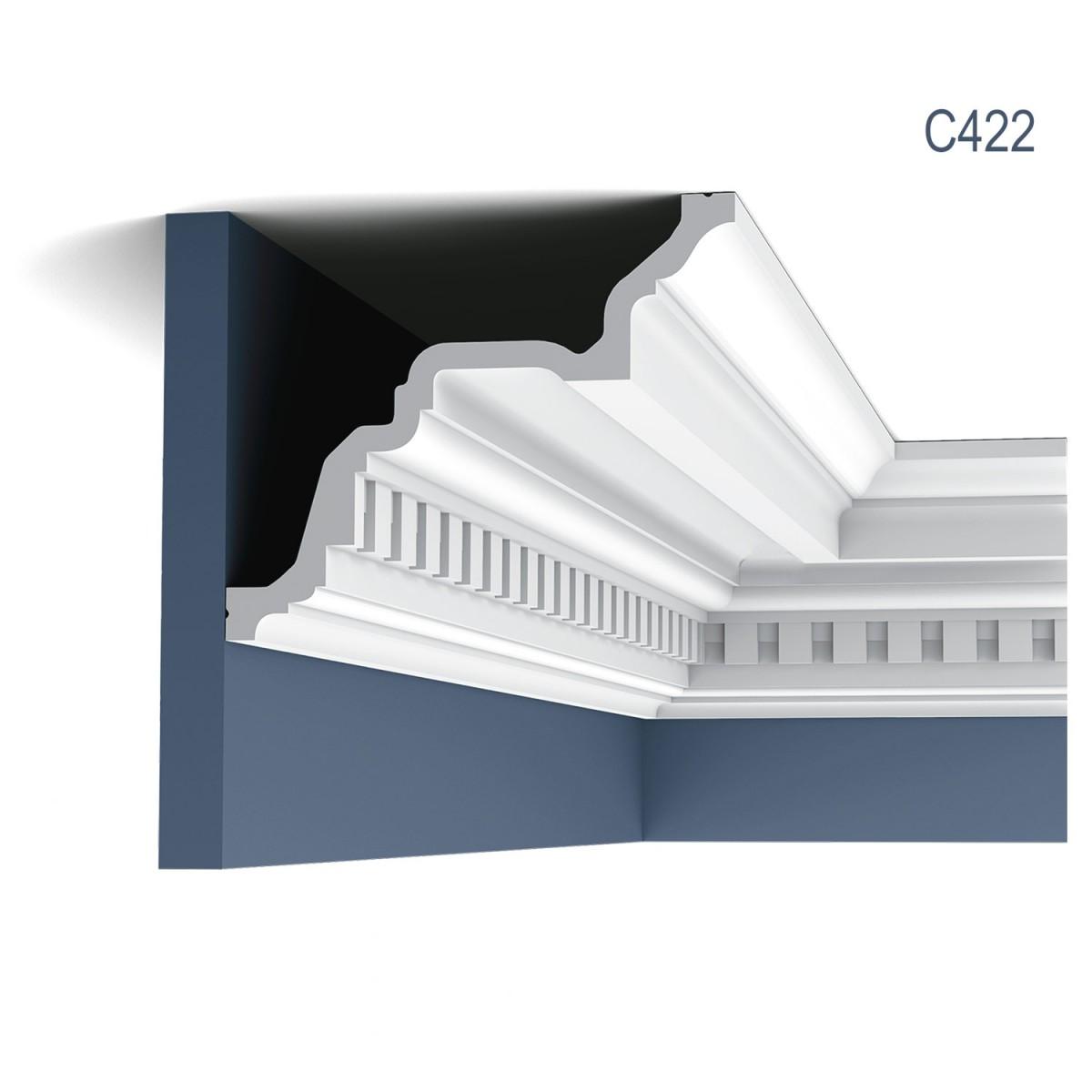 Cornisa Luxxus C422, Dimensiuni: 200 X 17 X 19.9 cm, Orac Decor