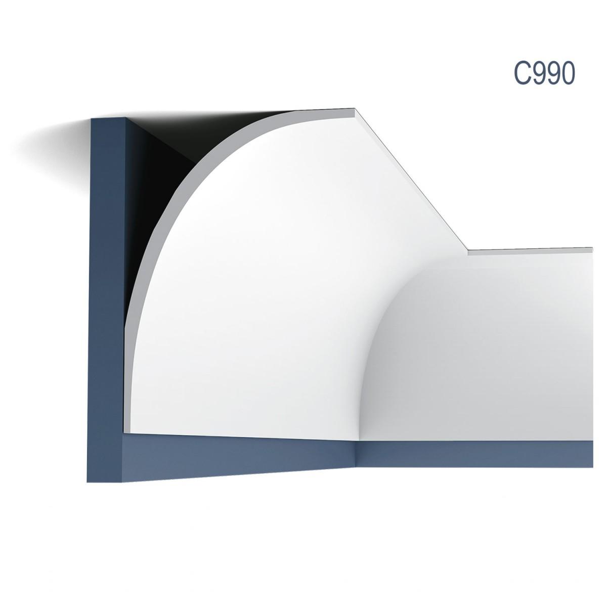 Cornisa Luxxus C990, Dimensiuni: 200 X 21.5 X 15.7 cm, Orac Decor