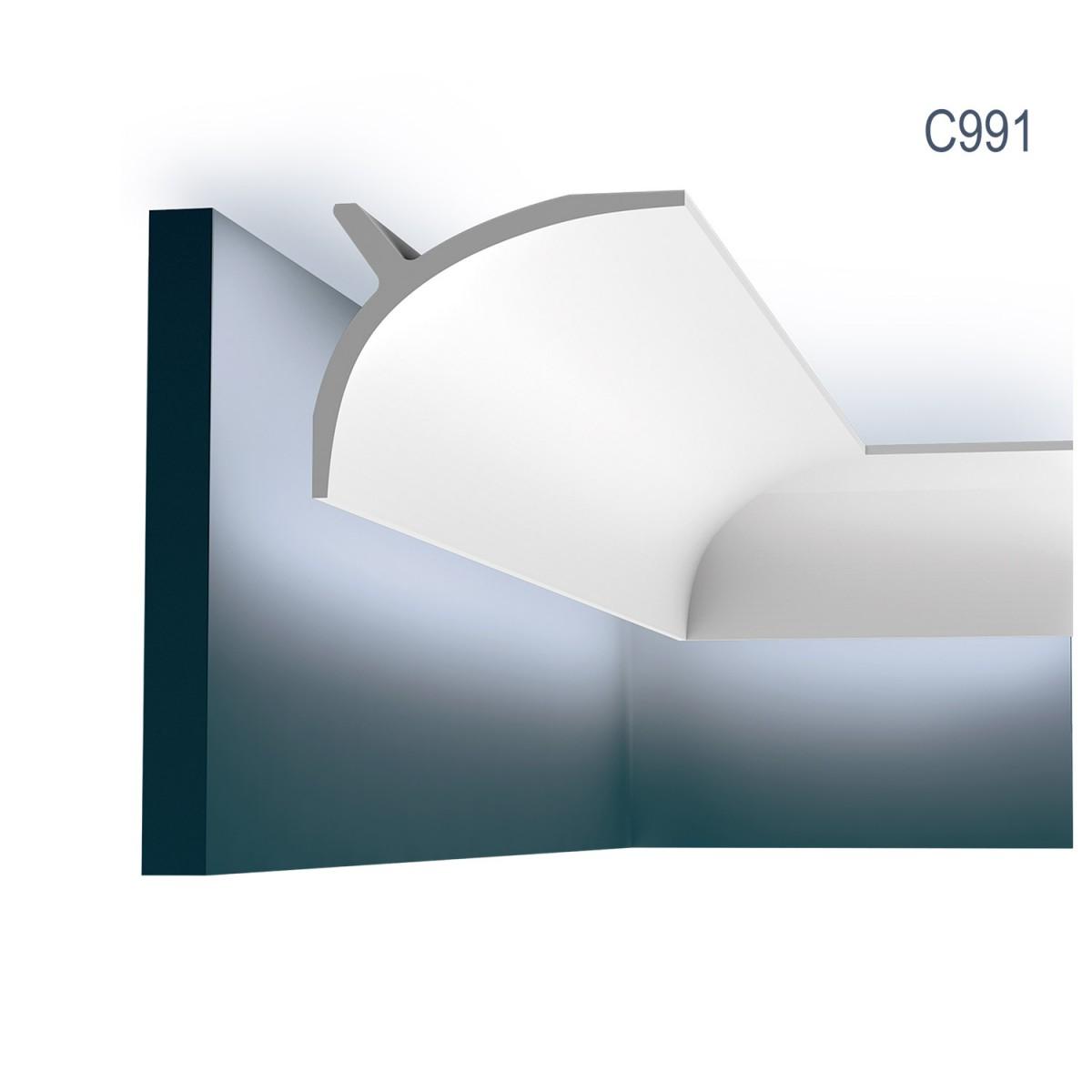 Cornisa Ulf Moritz C991, Dimensiuni: 200 X 14 X 11 cm, Orac Decor