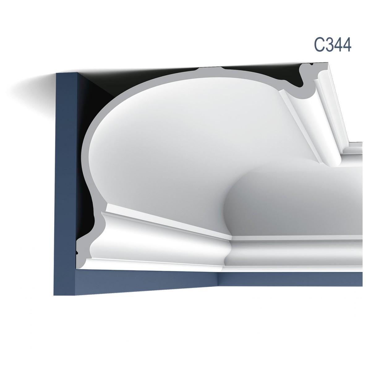 Cornisa Luxxus C344, Dimensiuni: 200 X 35 X 27.3 cm, Orac Decor