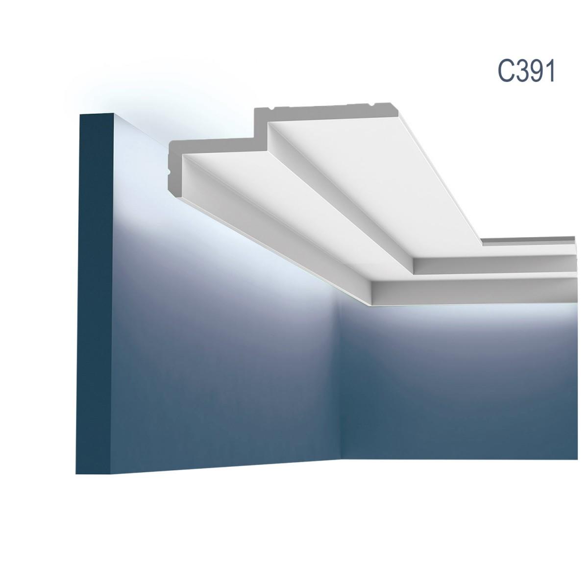 Cornisa Modern C391, Dimensiuni: 200 X 6 X 16 cm, Orac Decor