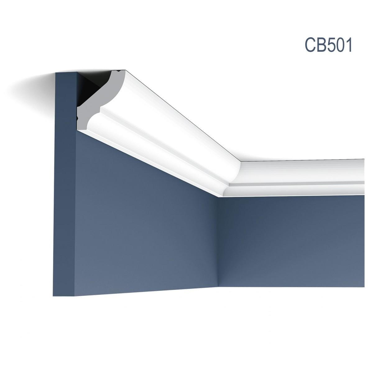 Cornisa Basixx CB501, Dimensiuni: 200 X 4.1 X 3.5 cm, Orac Decor