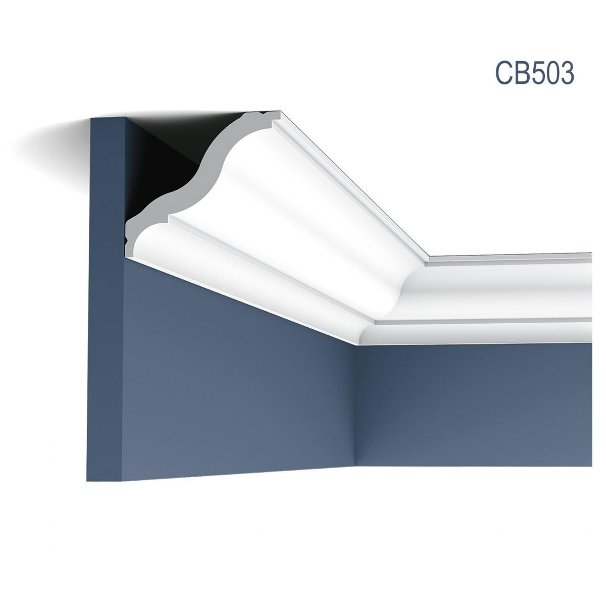 Cornisa Basixx CB503, Dimensiuni: 200 X 8.2 X 9.2 cm, Orac Decor