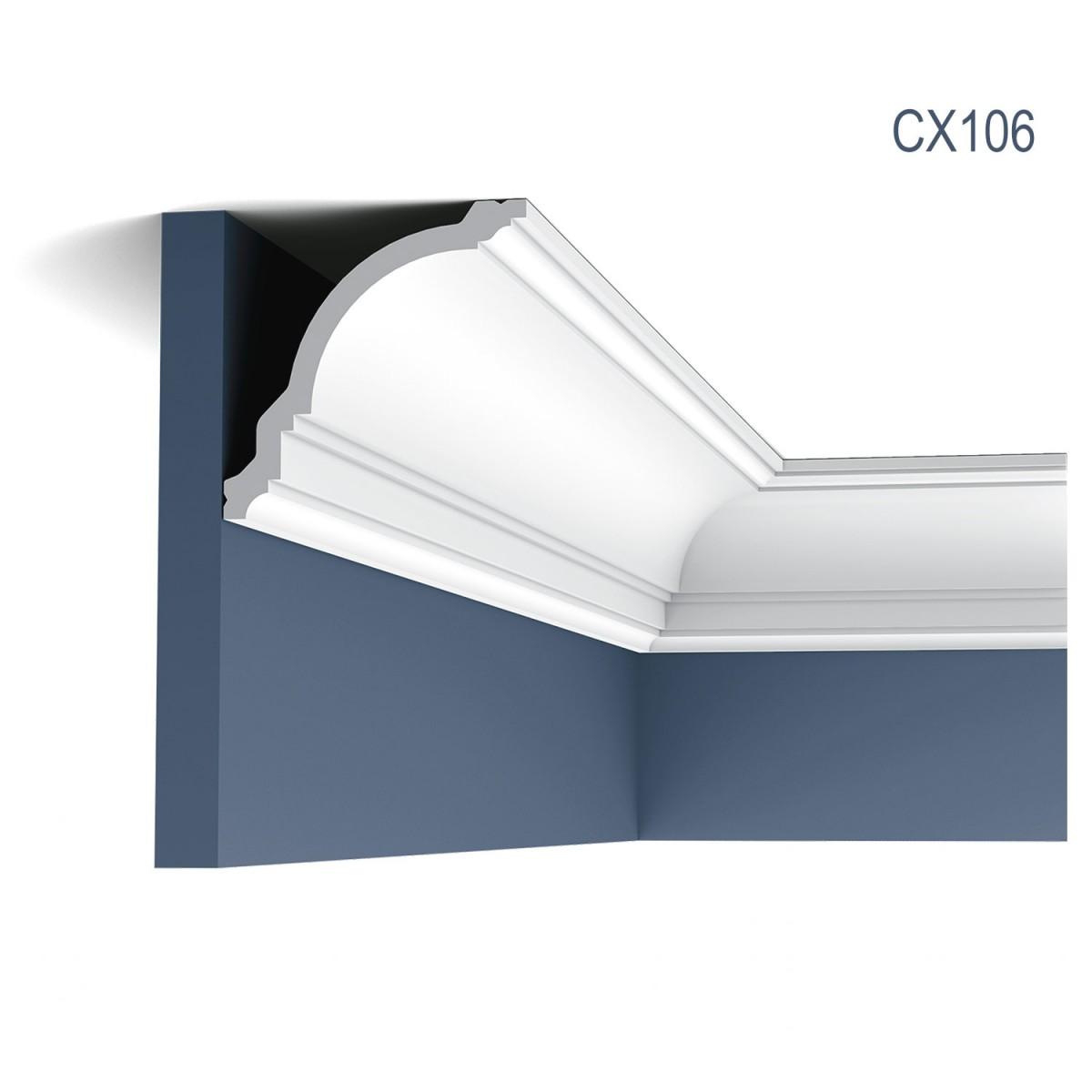 Cornisa Axxent CX106, Dimensiuni: 200 X 11.8 X 11.7 cm, Orac Decor