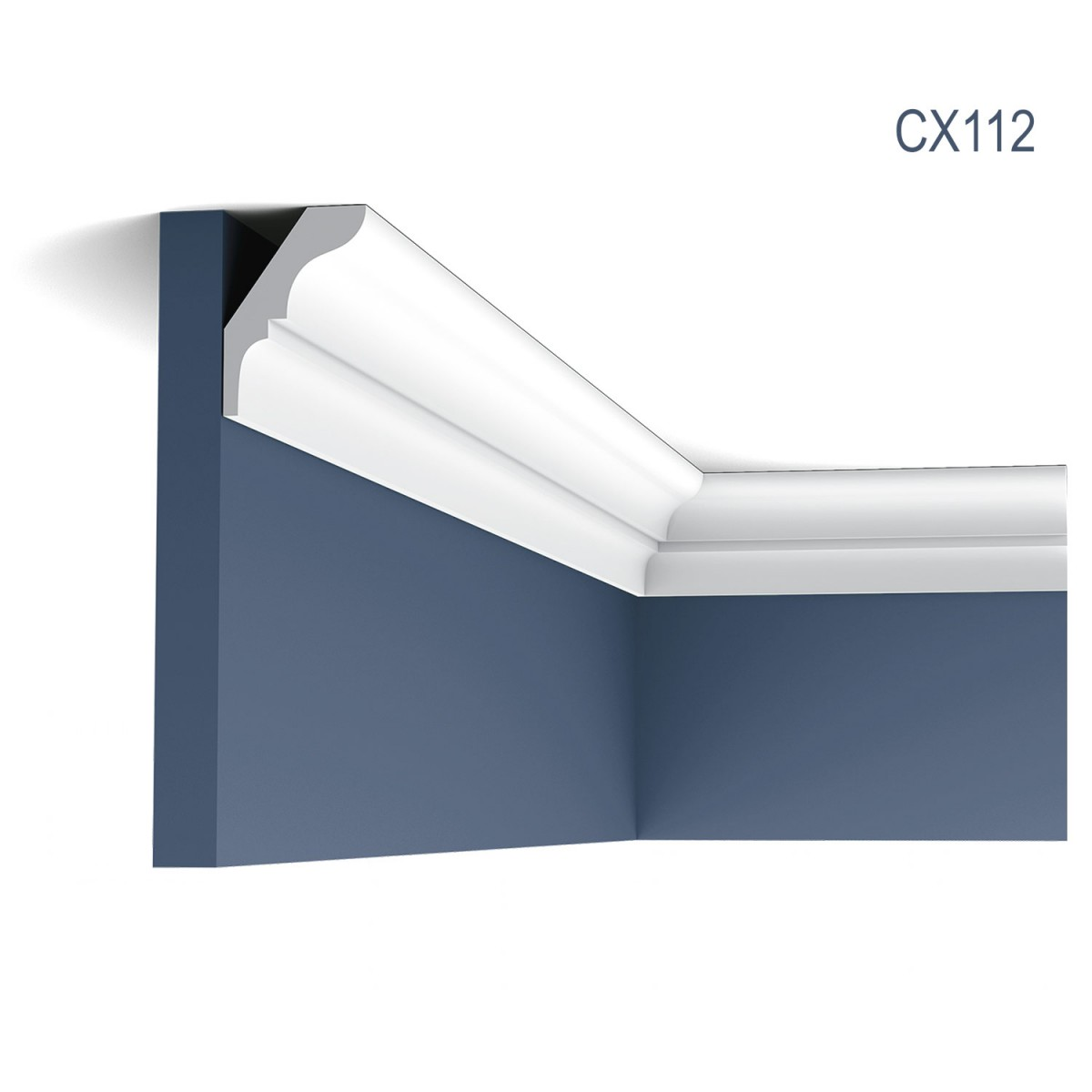 Cornisa Axxent CX112, Dimensiuni: 200 X 5.4 X 3.8 cm, Orac Decor