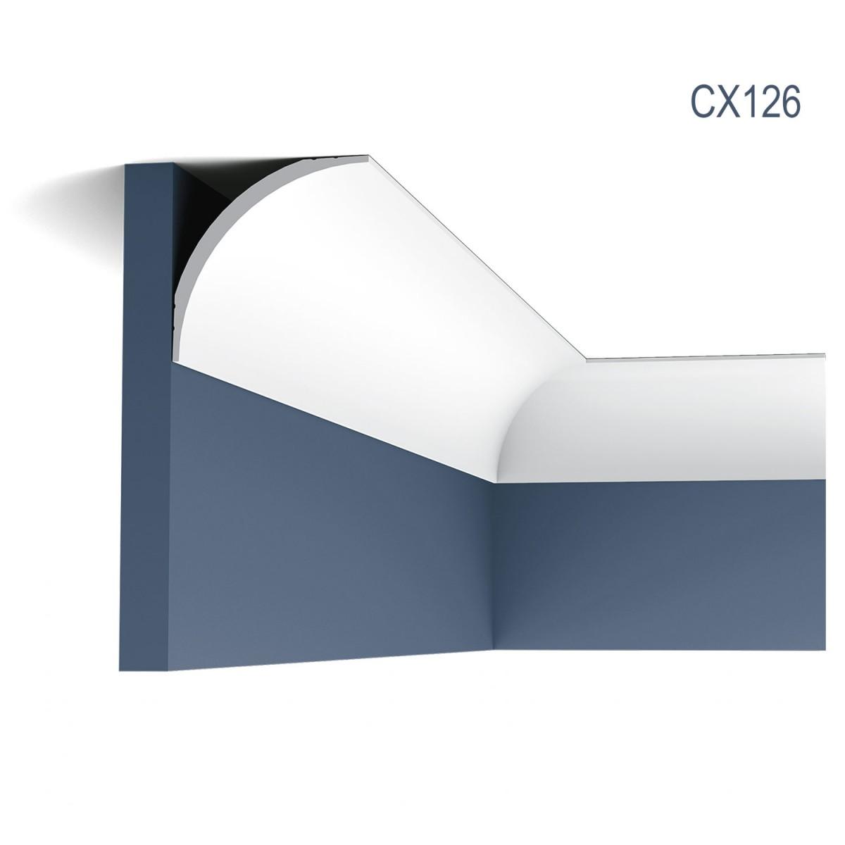 Cornisa Axxent CX126, Dimensiuni: 200 X 8.7 X 8.7 cm, Orac Decor