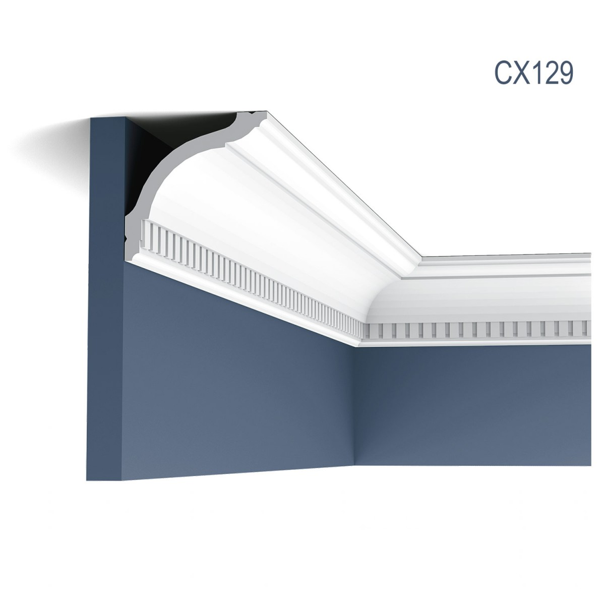 Cornisa Axxent CX129, Dimensiuni: 200 X 9.4 X 9.4 cm, Orac Decor