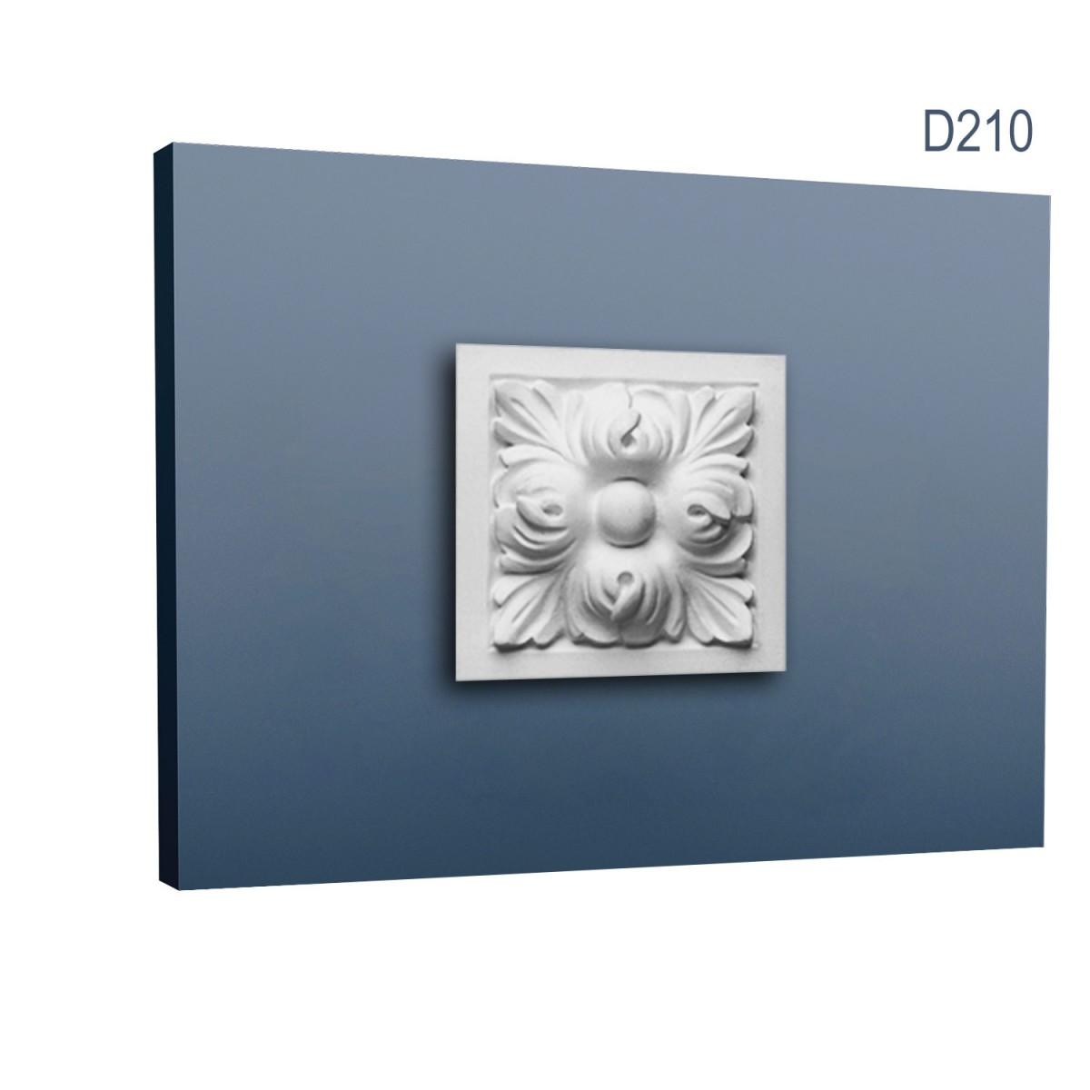 Ornament Ancadrament Usa Luxxus D210, Dimensiuni: 9.6 X 9.6 X 3.5 cm, Orac Decor
