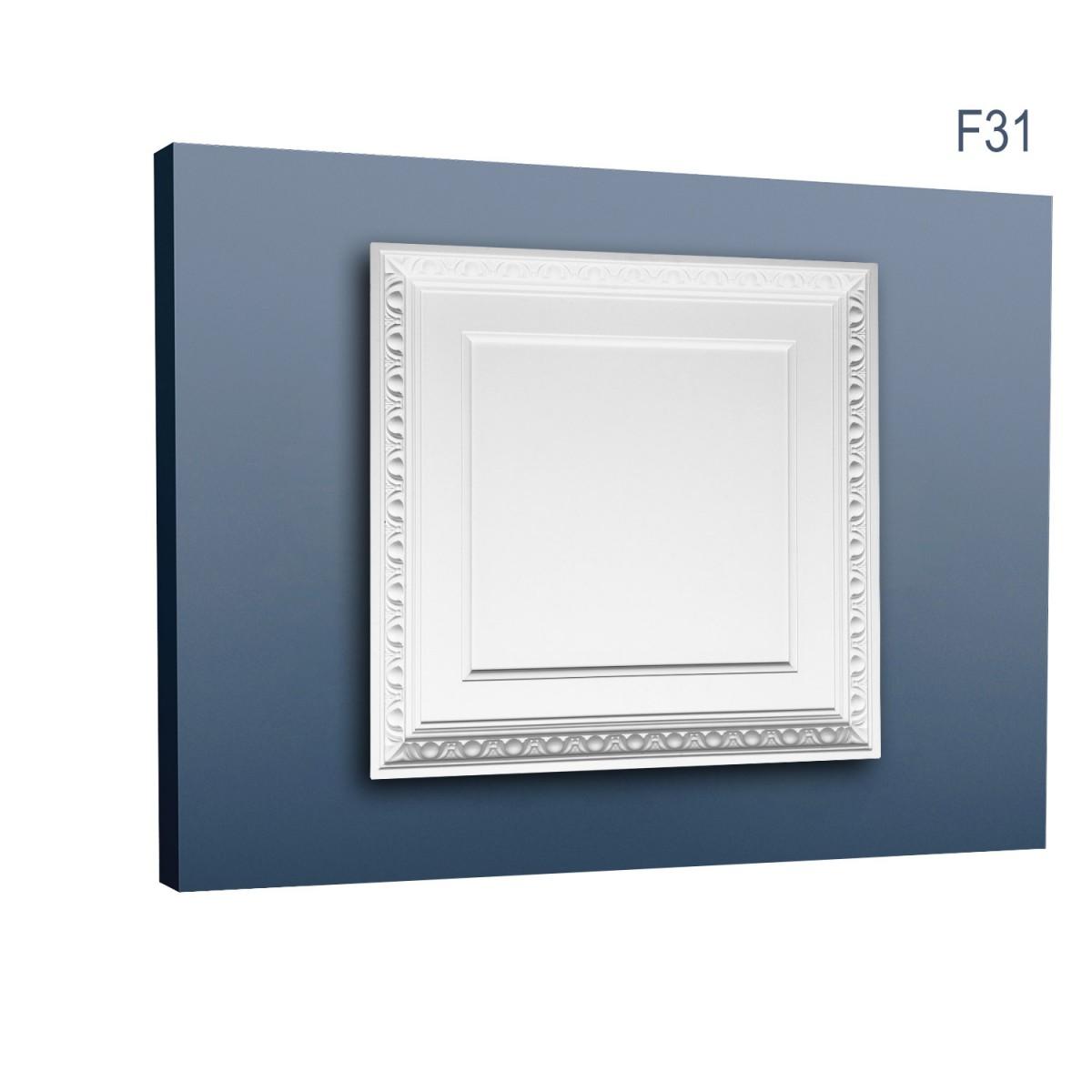 Ornament Tavan Luxxus F31, Dimensiuni: 59.5 X 59.5 X 6.6 cm, Orac Decor