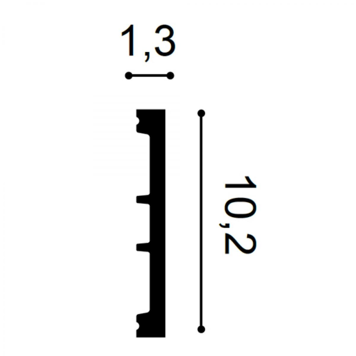 Ancadrament Usa Axxent SX163, Dimensiuni: 200 X 10.2 X 1.3 cm, Orac Decor