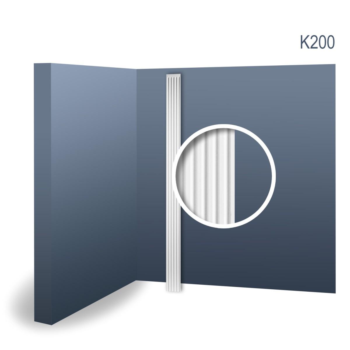 Pilastru Luxxus K200, Dimensiuni: 13.6 X 1.9 X 200 cm, Orac Decor
