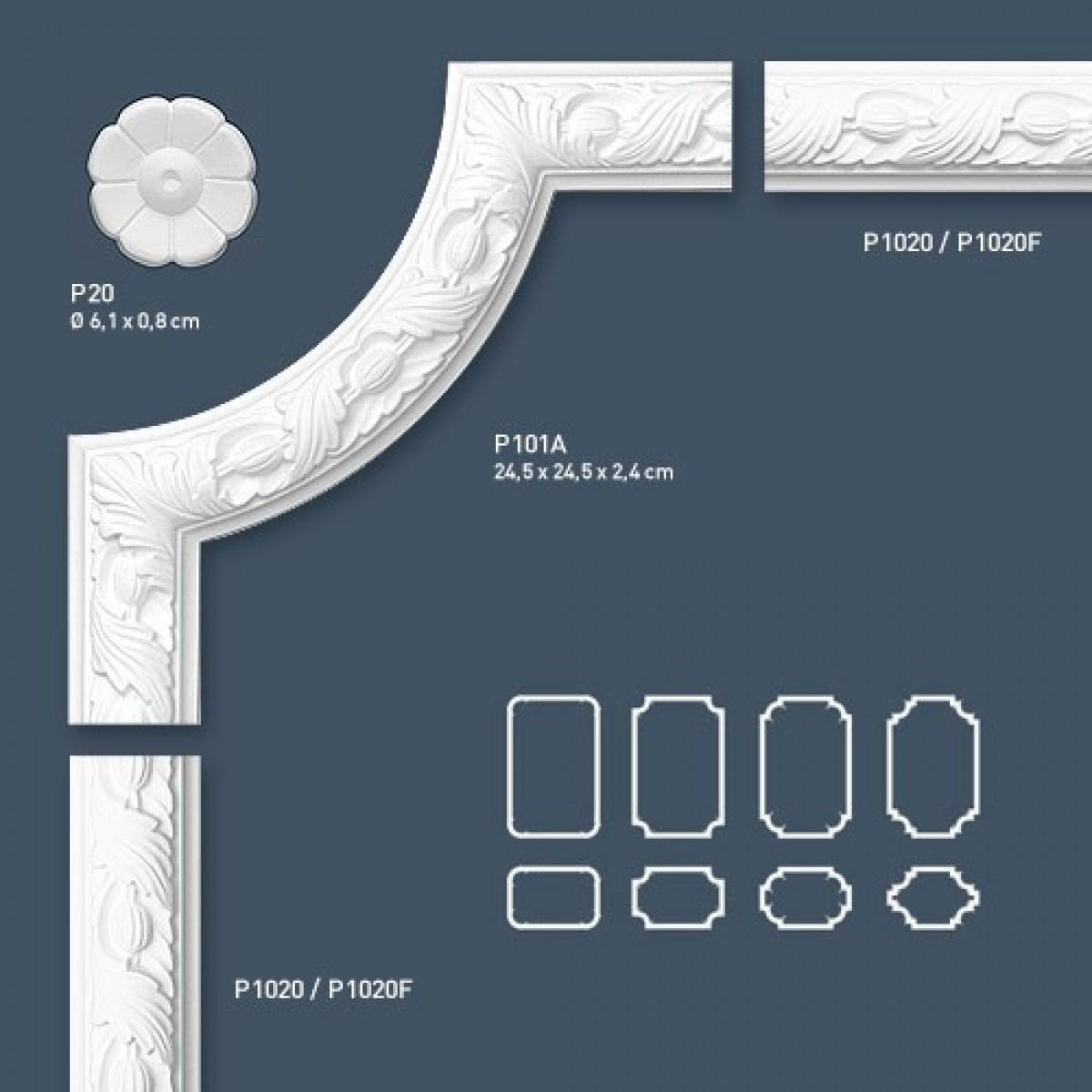 Brau Flex Luxxus P1020F, Dimensiuni: 200 X 4.9 X 2.4 cm, Orac Decor