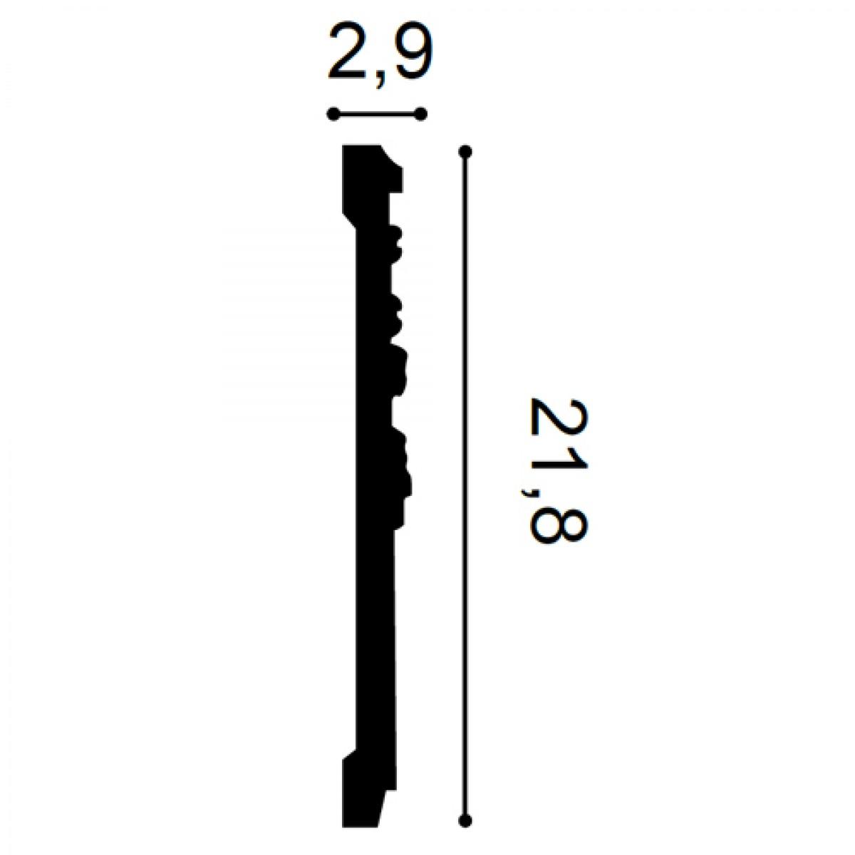 Brau Luxxus P7080, Dimensiuni: 200 X 21.8 X 2.9 cm, Orac Decor