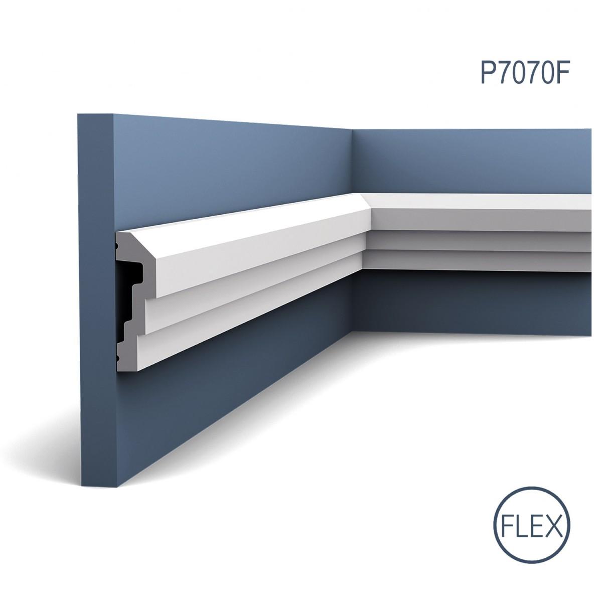 Brau Flex Luxxus P7070F, Dimensiuni: 200 X 7.4 X 2.2 cm, Orac Decor