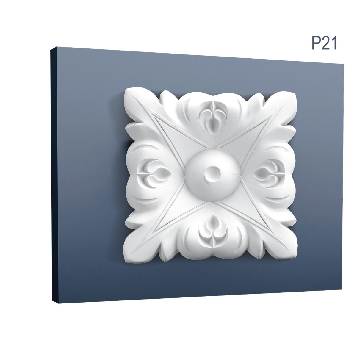 Ornament Luxxus P21, Dimensiuni: 6.7 X 6.7 X 0.9 cm, Orac Decor
