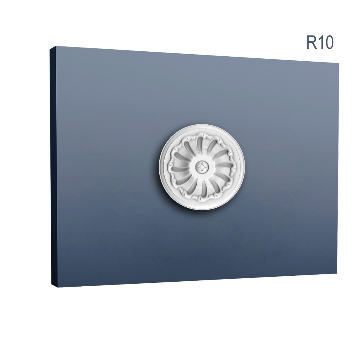 Rozeta Luxxus R10, Dimensiuni: diam. 15 cm (H: 4,2 cm), Orac Decor