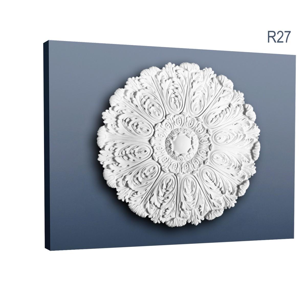 Rozeta Luxxus R27, Dimensiuni: diam. 75 cm (H: 4,5 cm), Orac Decor
