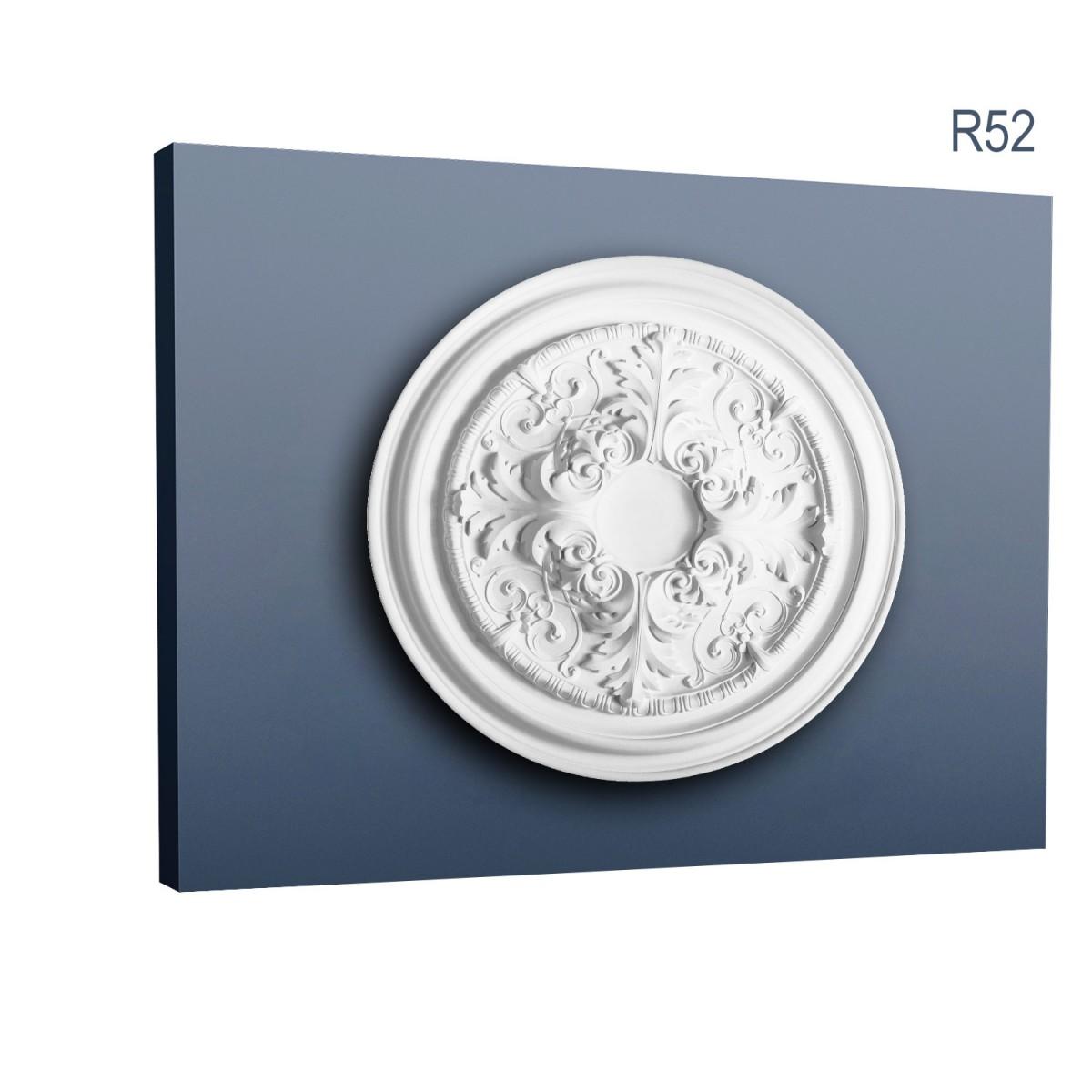 Rozeta Luxxus R52, Dimensiuni: diam. 69,5 cm (H: 4,8 cm), Orac Decor