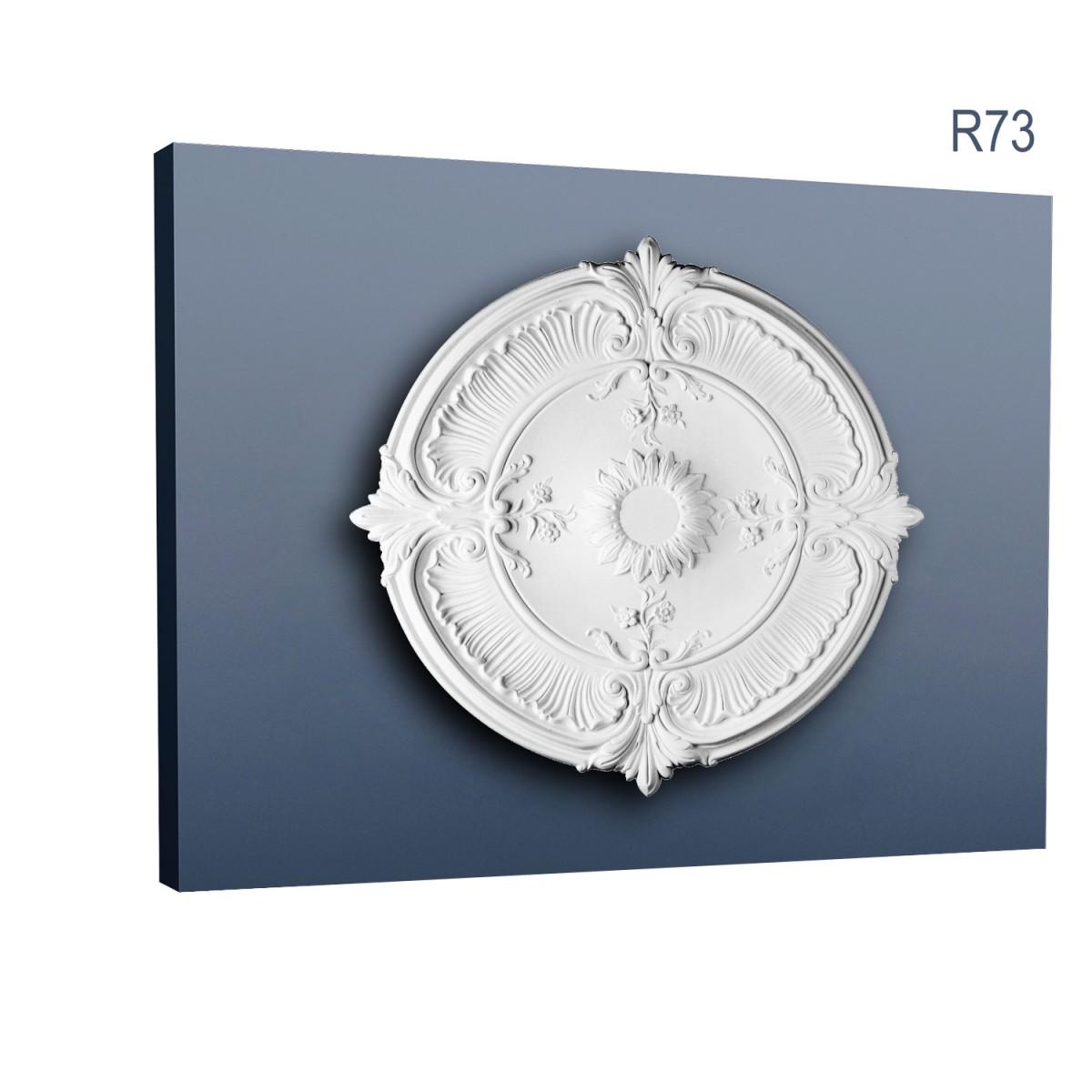 Rozeta Luxxus R73, Dimensiuni: diam. 70 cm (H: 5,9 cm), Orac Decor