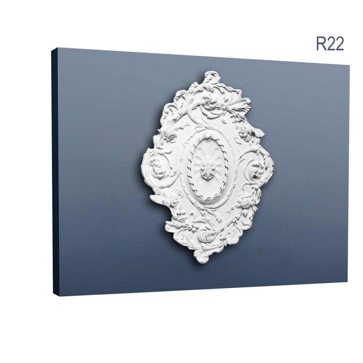 Rozeta Luxxus R22, Dimensiuni: 77.5 X 53 X 3.6 cm, Orac Decor