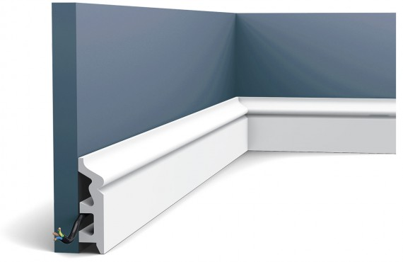 Plinta Axxent SX122, Dimensiuni: 200 X 7.9 X 2.2 cm, Orac Decor