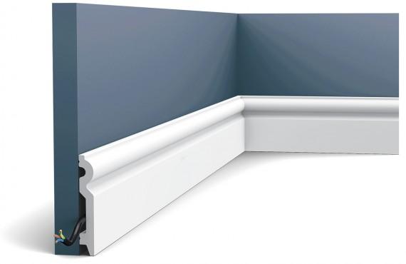 Plinta Axxent SX137, Dimensiuni: 200 X 9.9 X 1.5 cm, Orac Decor
