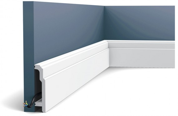 Plinta Luxxus SX155, Dimensiuni: 200 X 10.8 X 2.5 cm, Orac Decor