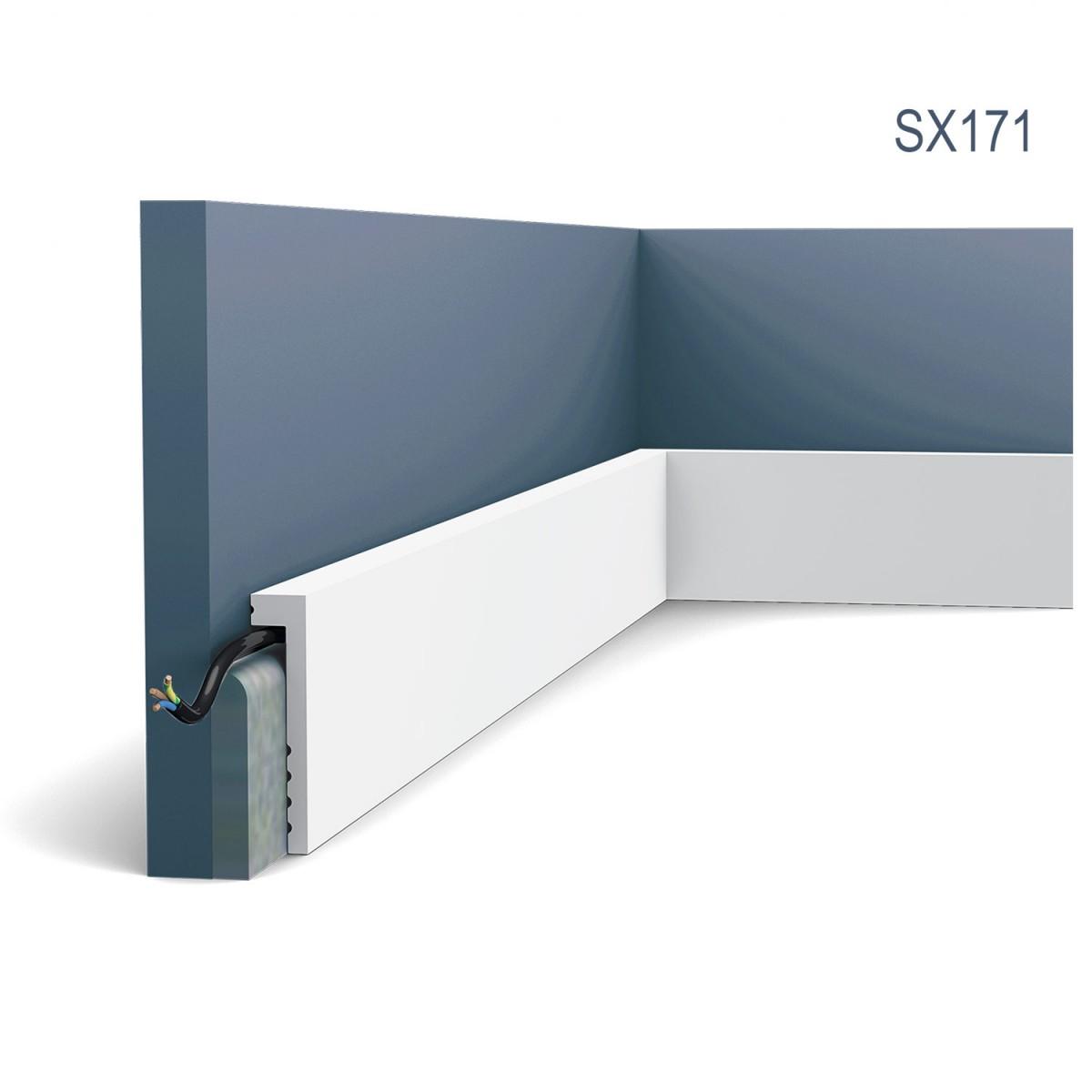 Plinta Axxent SX171, Dimensiuni: 200 X 10 X 2.2 cm, Orac Decor