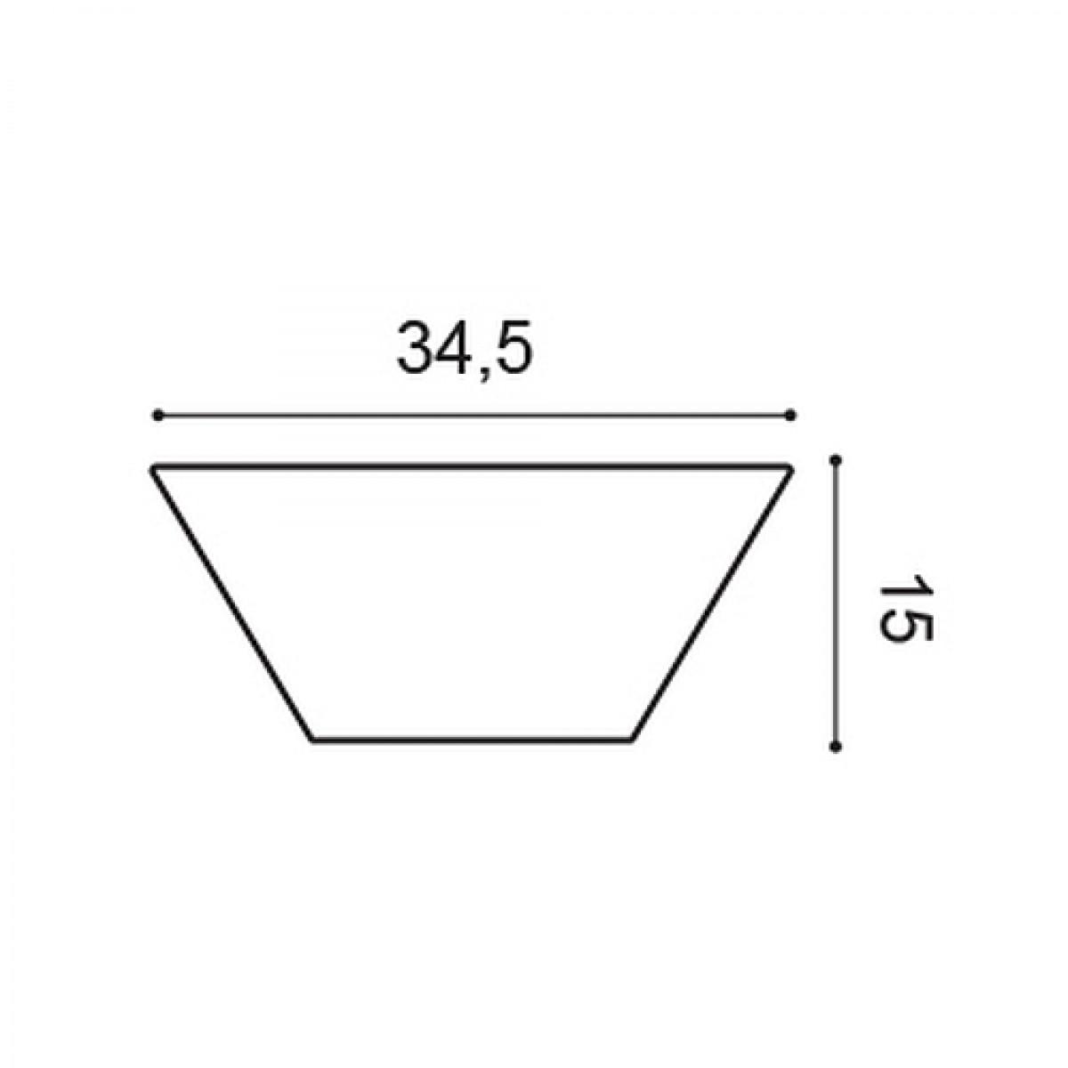 Panel Modern W101, Dimensiuni: 15 X 34.5 X 2.9 cm, Orac Decor