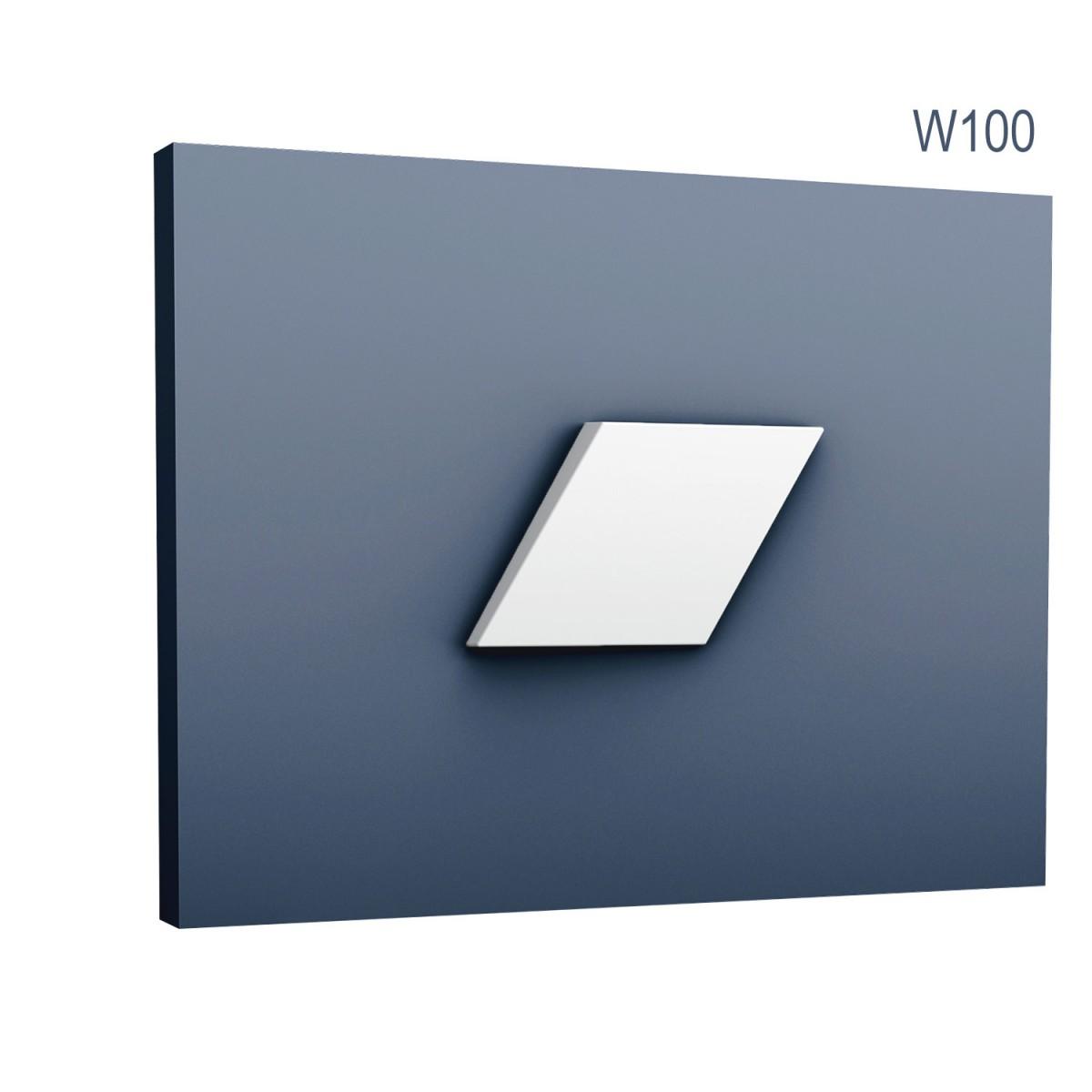 Panel Modern W100, Dimensiuni: 15 X 25.8 X 2.9 cm, Orac Decor