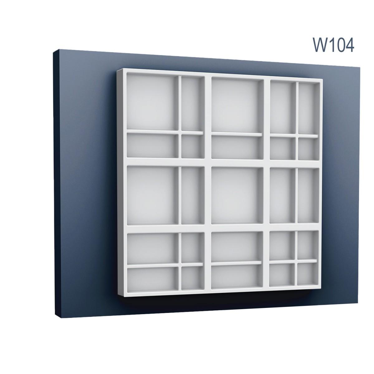 Panel Modern W104, Dimensiuni: 45 X 45 X 3.6 cm, Orac Decor