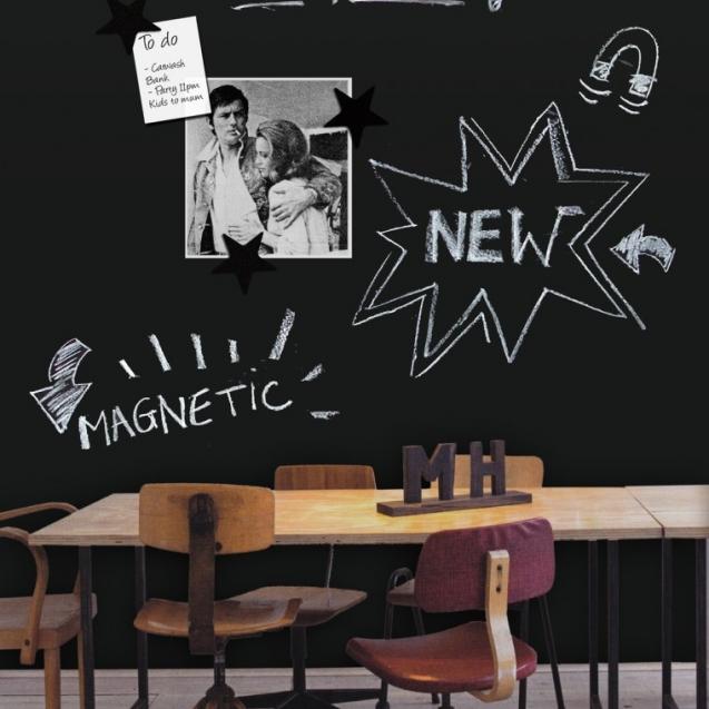 Tapet - tablă de scris magnetică, GroovyMagnets