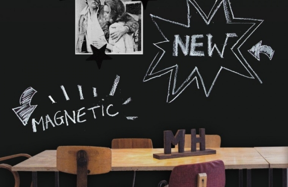 Tapet magnetic clasic - tablă de scris magnetică - GVM-KMB-C-1220x2650