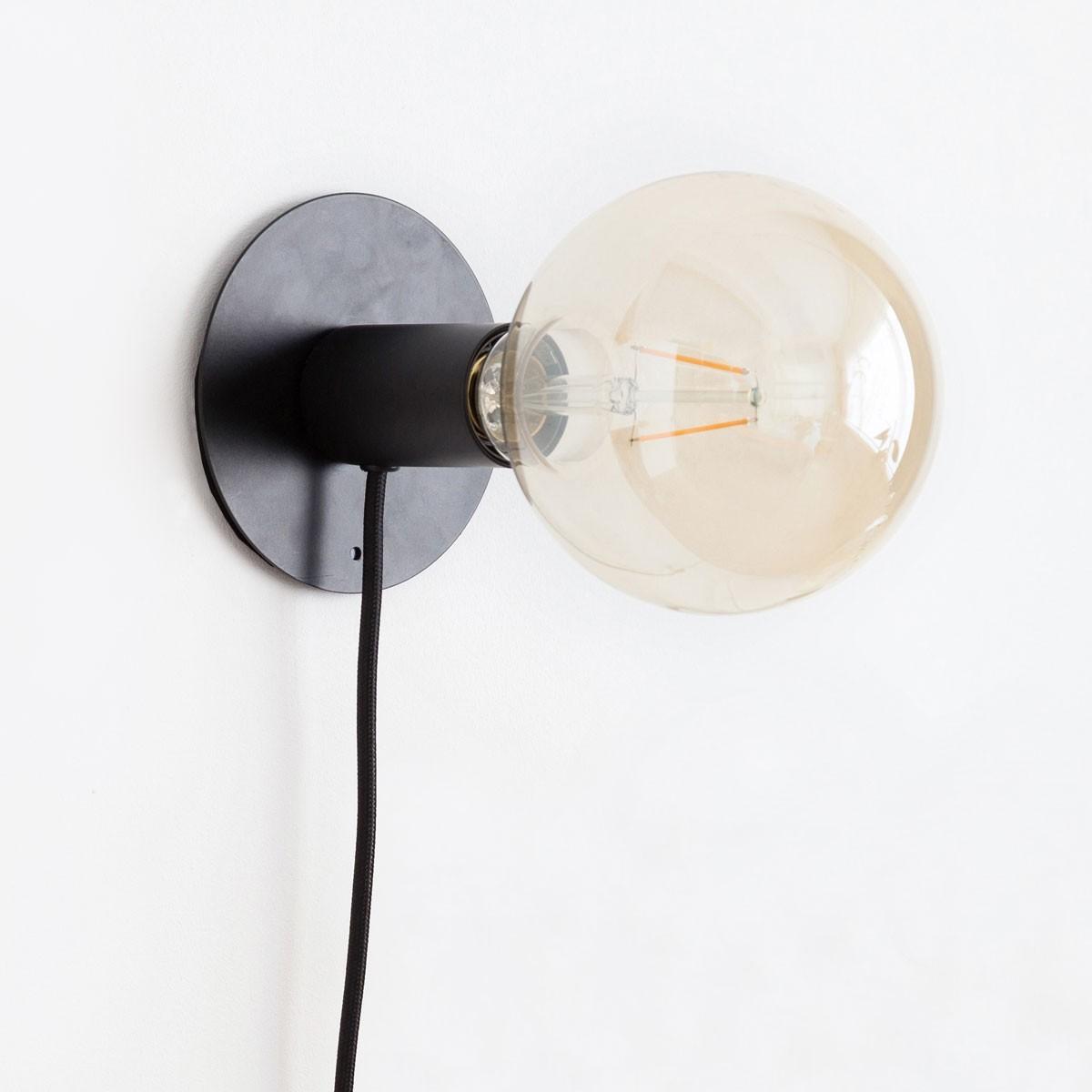 Lampă cu bec inclus pentru tapet magnetic