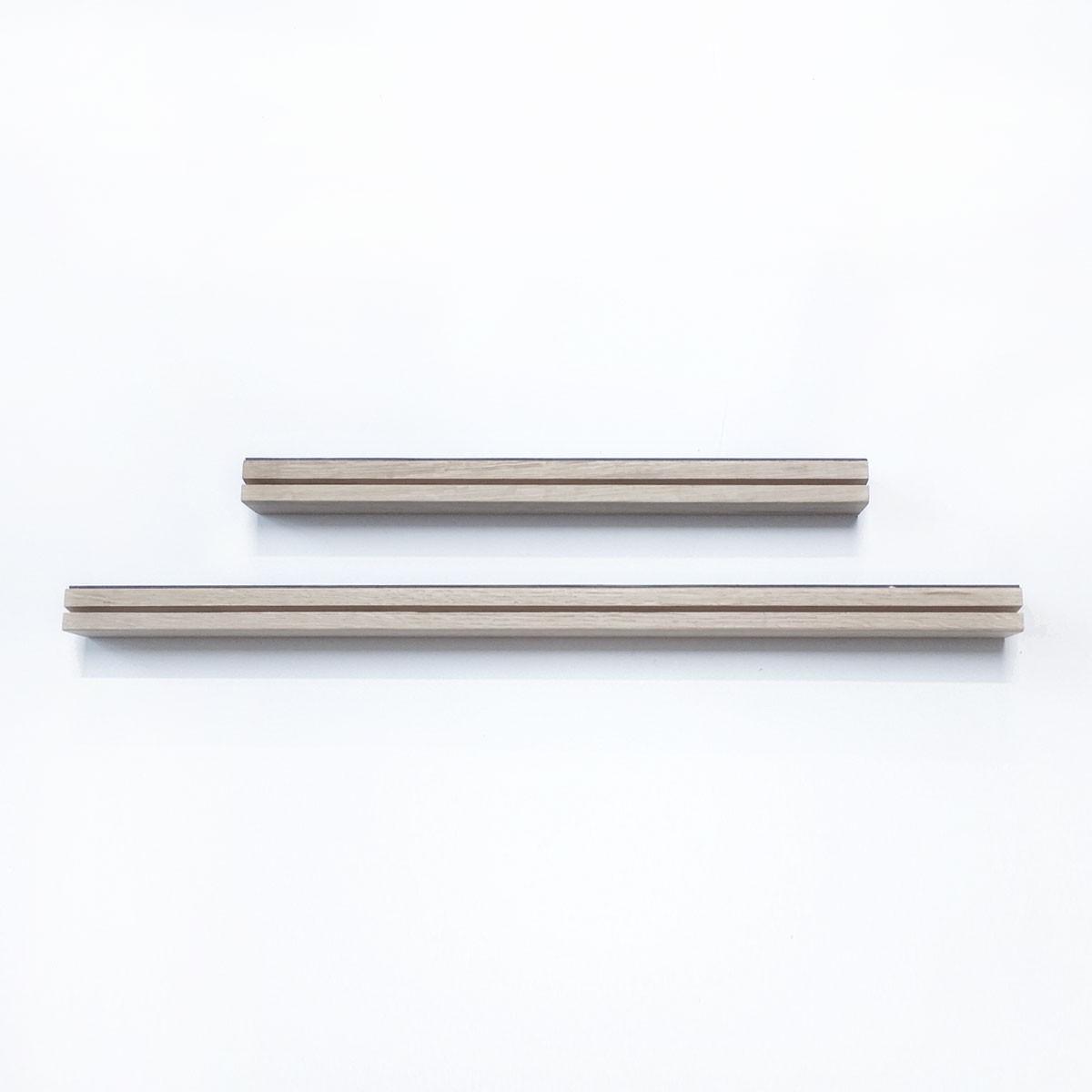Poliță din lemn pentru tapet magnetic