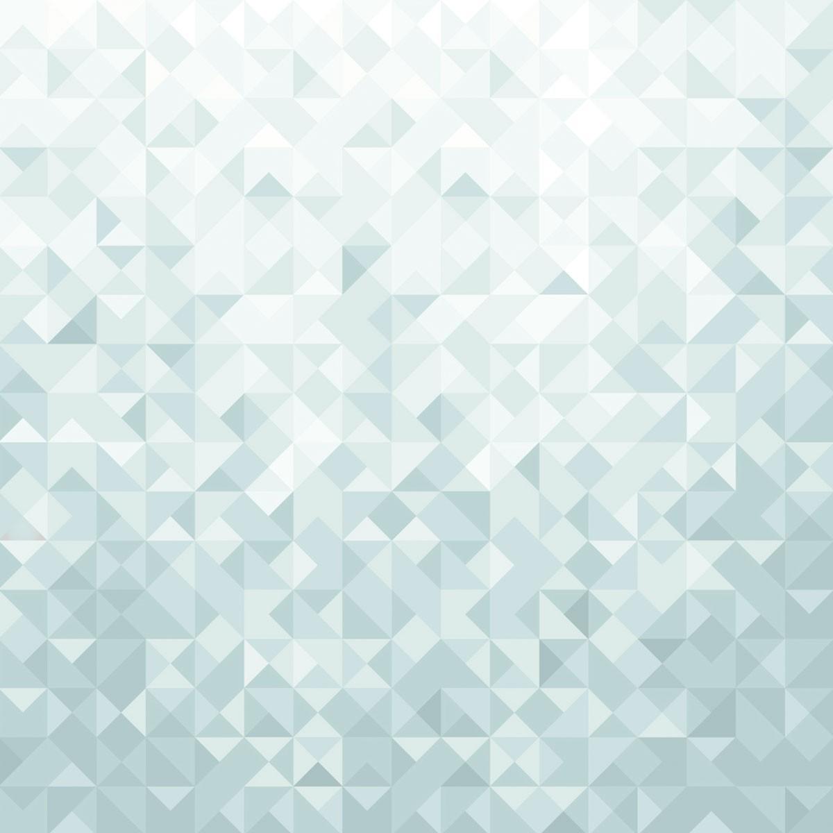 Geometric albastru