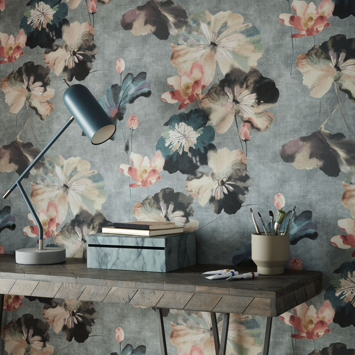 Tapet Water Lilies, 1838 Wallcoverings, 5.3mp / rola