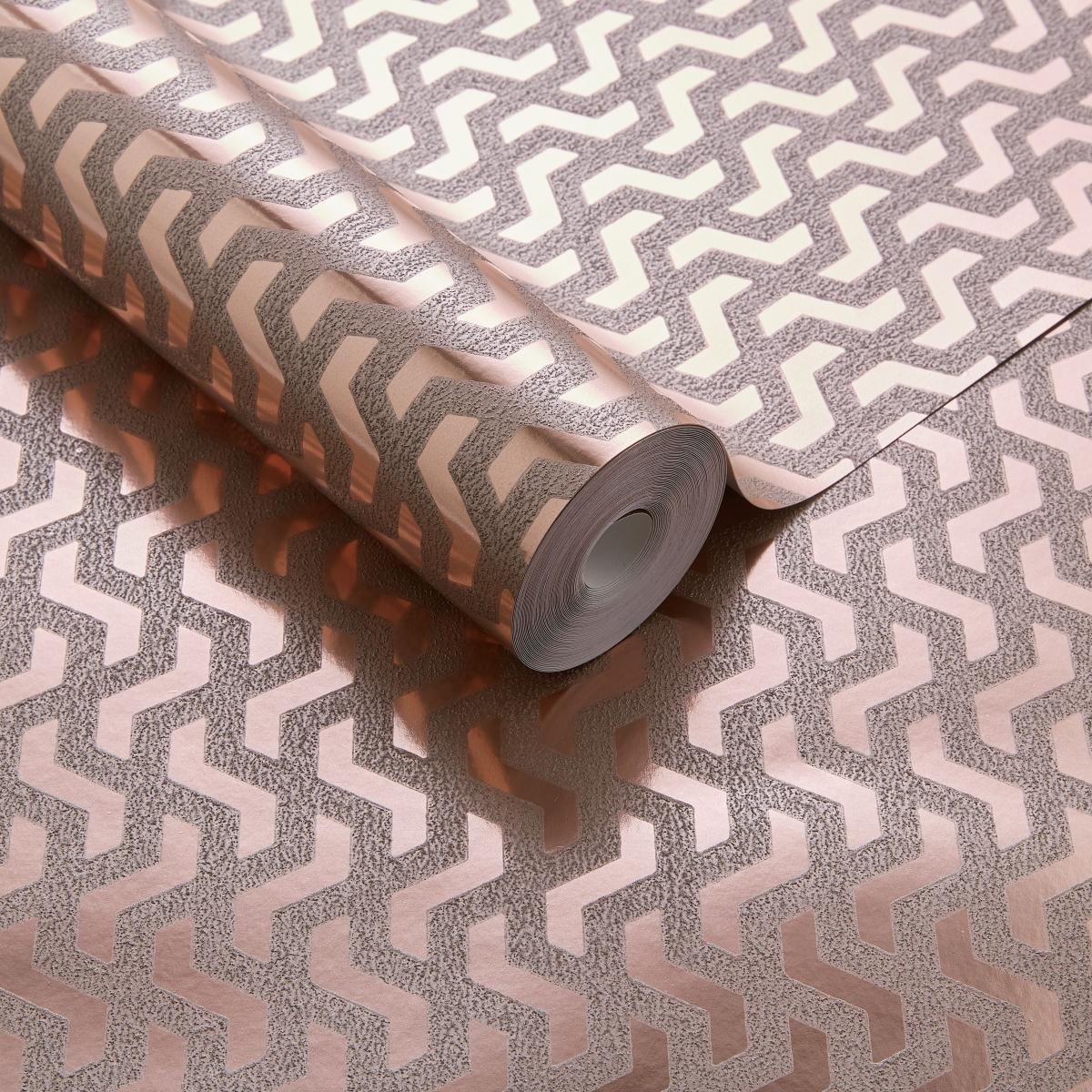 Tapet metalizat Rattan, 1838 Wallcoverings, 5.3mp / rola