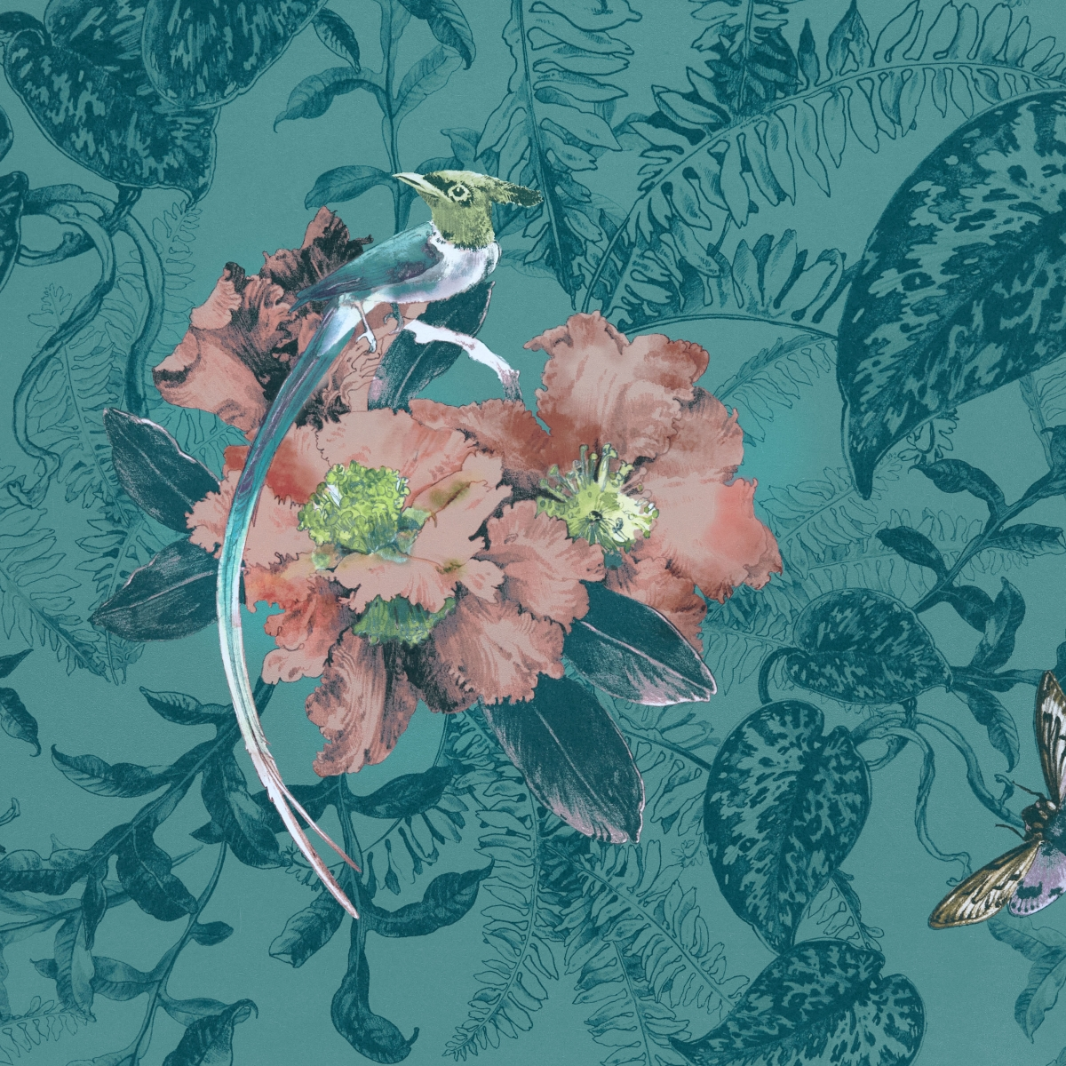 Tapet Hedgerow, 1838 Wallcoverings, 5.3mp / rola