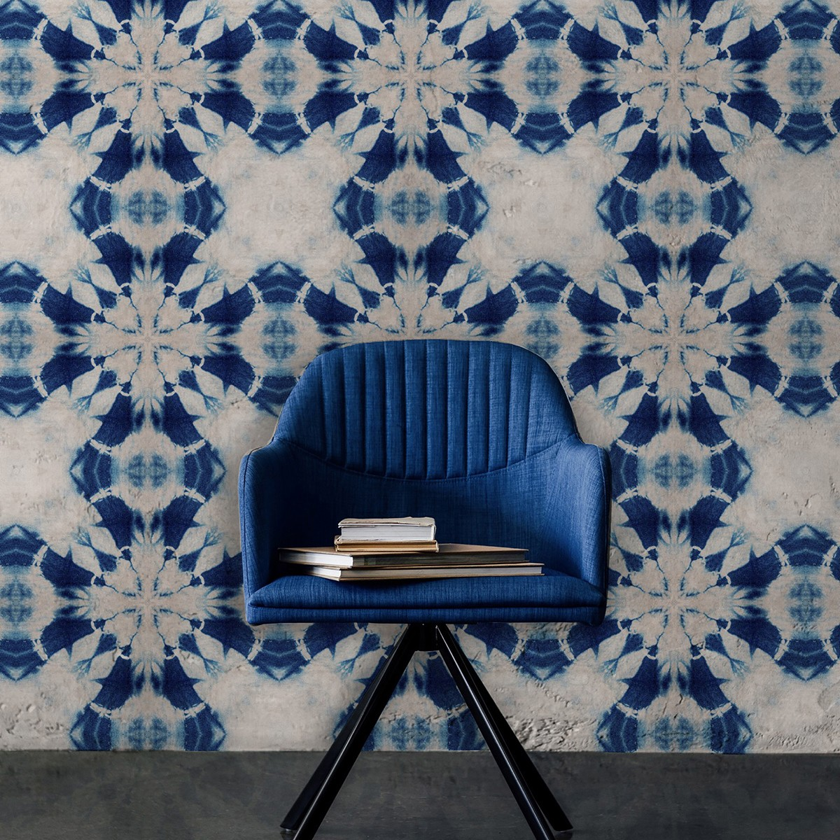 Tapet designer SHIBORI FLOWER, MINDTHEGAP