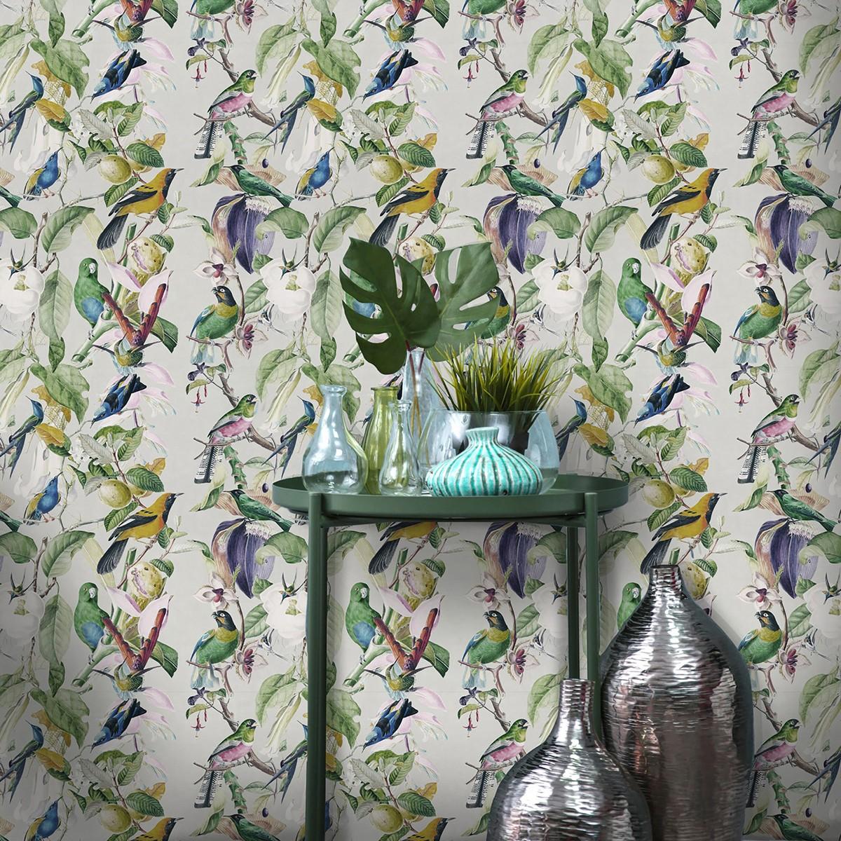 Tapet designer TROPICAL BIRDS, MINDTHEGAP