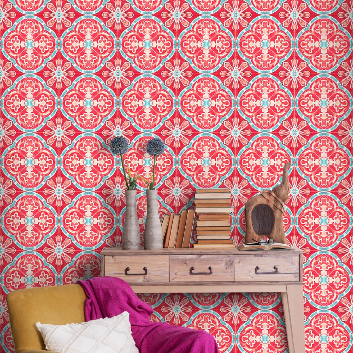Tapet designer World Culture Rufous Tile, MINDTHEGAP