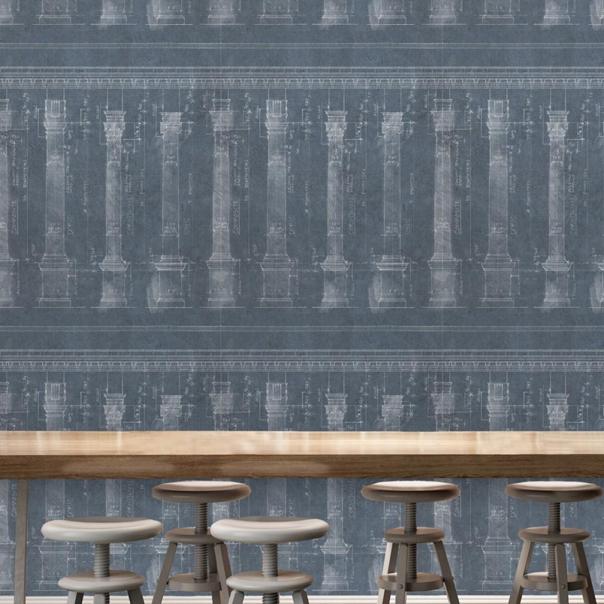Tapet designer The Architect COLONNADE, MINDTHEGAP
