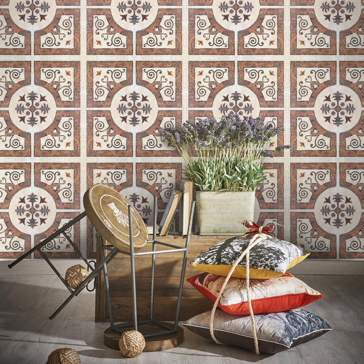 Tapet designer World Culture Byzantine tile, MINDTHEGAP